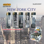 50 PCS Gray NYC Lighters
