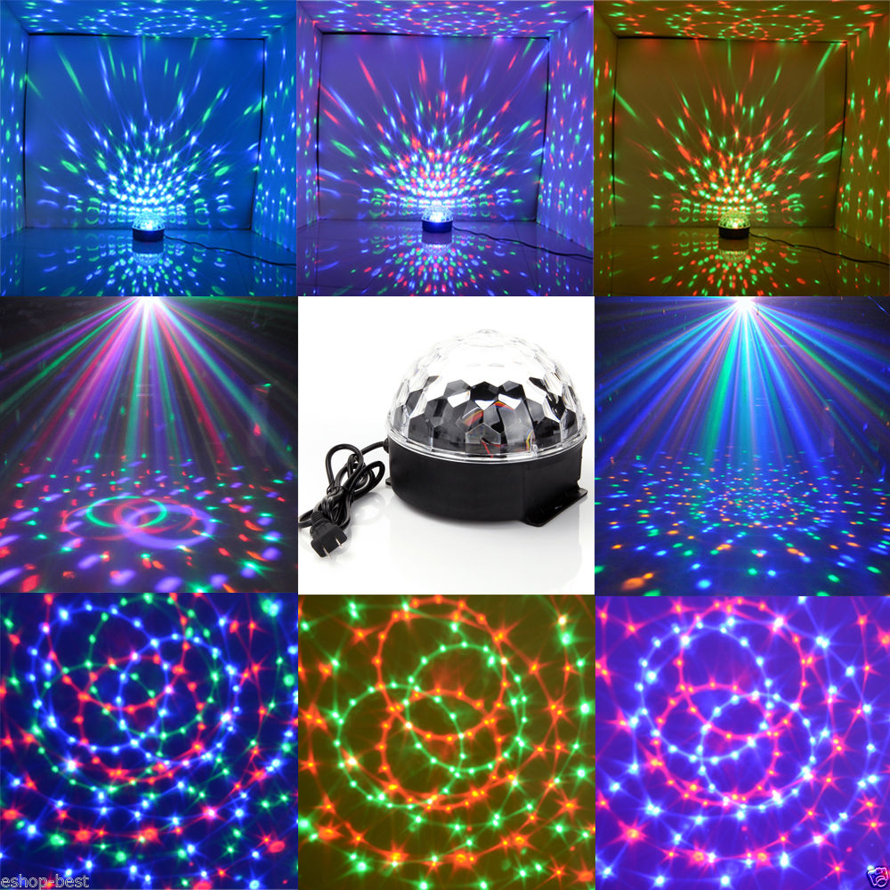 ... LED Magic Ball Disco Light. W3075 Main 1