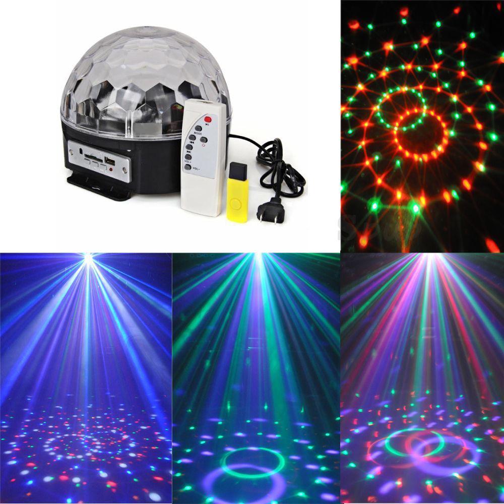 LED Magic Ball With Music