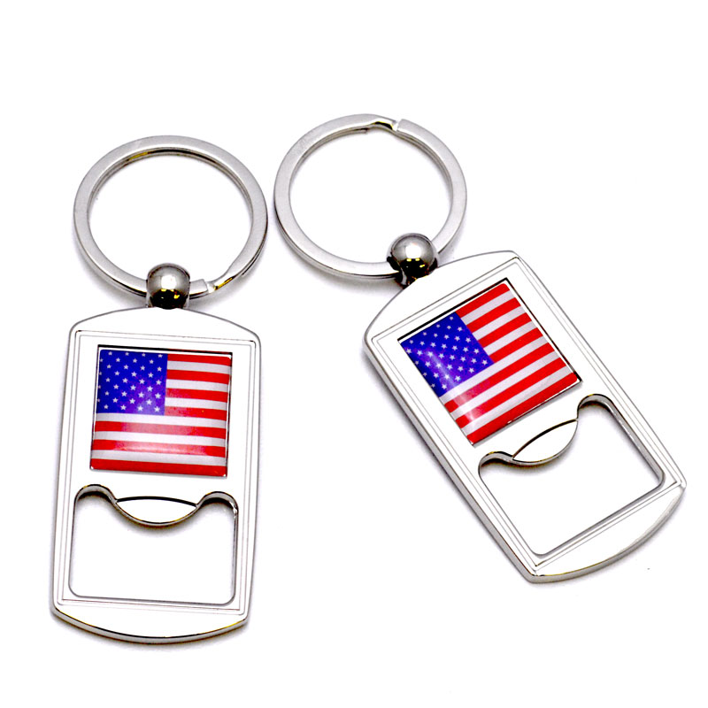 ny key chain flag bottle opener my merchandise. Black Bedroom Furniture Sets. Home Design Ideas