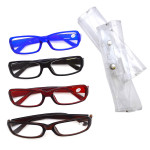 Reading Glasses Round Plastic With Box