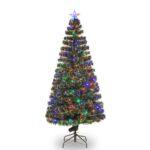 Christmas Tree Fiber Optic LED 180cm 6FT