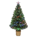 Christmas Tree Fiber Optic LED 150cm 5FT