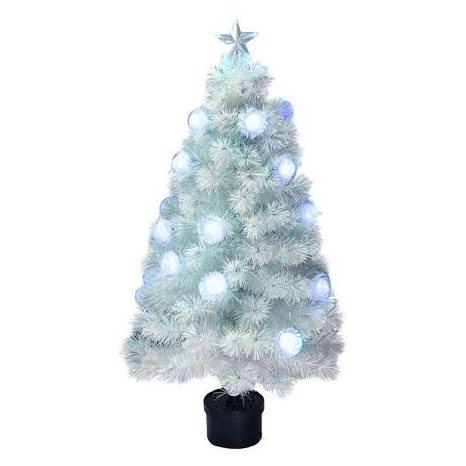 christmas tree fiber optic led 120cm 4ft