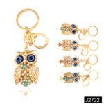 Fashion Diamond Key Chain Owl