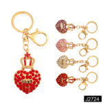 Fashion Diamond Key Chain Heart